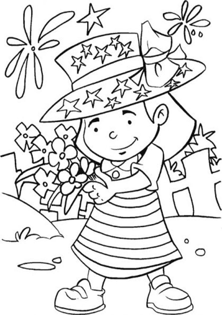 Free & Easy To Print 4th Of July Coloring Pages | Crayola ...