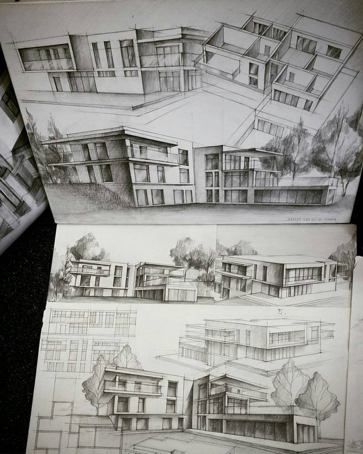 """""""By @ta_sha_art #arch_more In case you missed it, a new sketching competition link in the bio @arch_more https://goo.gl/OsavGO"""""""