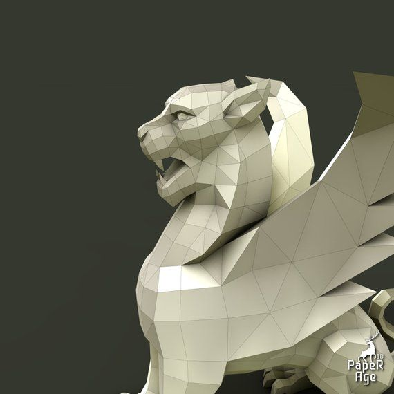 How to make ORIGAMI GRIFFIN.wmv - YouTube | 570x570