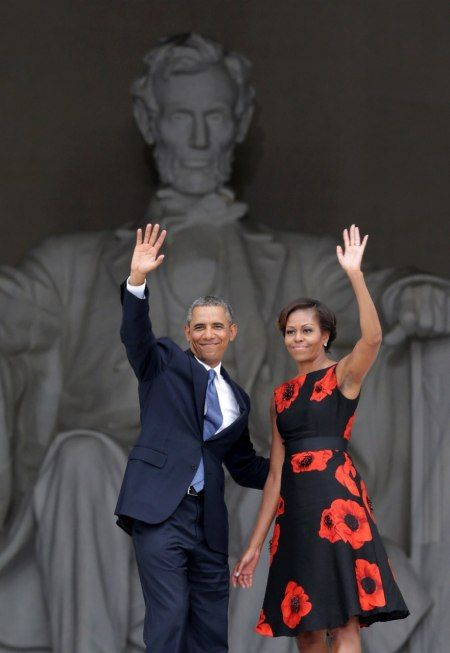 Follow #Professionalimage – President Barack Obama & Michelle Obama at the March on Washington 50th Anniversary