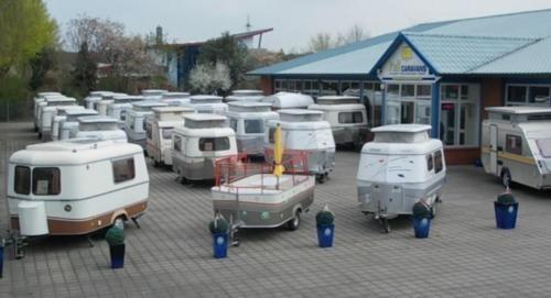 Andere PORTAFOLD (engl. Klapp-Caravan) OLDTIMER RETRO VINTAGE in Niedersachsen - Ahlerstedt   Gebrauchter Wohnwagen gebraucht   eBay Kleinanzeigen