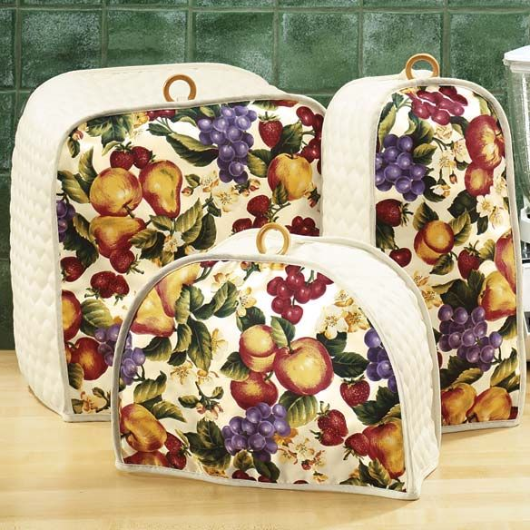 Appliance Cover for Kitchen with Fruit Design