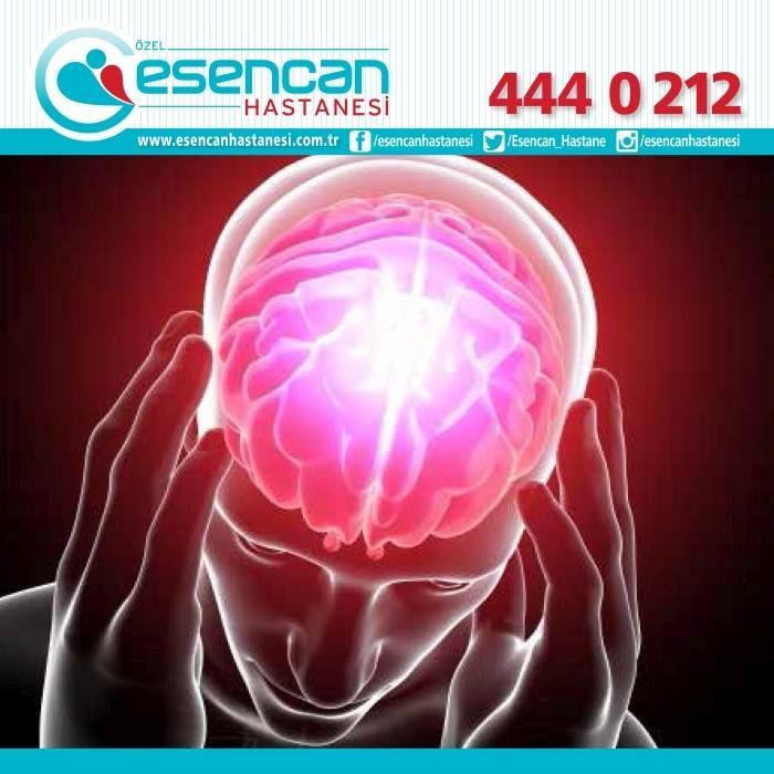 Özel Esencan Hastanesi Beyin ve Sinir Cerrahisi Uzmanı Prof. Dr. Özkan ATEŞ  BEYİN TÜMÖRLERİ •Baş ağrısı •Bulantı •Kusma •Kol ve bacakta güçsüzlük •Konuşma, görme ve işitme bozuklukları •Denge bozuklukları •Epileptik atak •Kişilik bozuklukları •Unutkanlık •Bilinç seviyesinde değişiklikler beyin tümörü belirtisi olabilir.  Beyin ve Sinir Cerrahisi Kliniğimize bekliyoruz