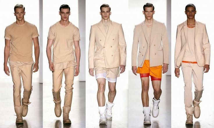 Calvin Klein  #Fashion #moda #men #hombre  http://cuchurutu.blogspot.com.es/2014/06/la-semana-de-la-moda-masculina-en-milan.html