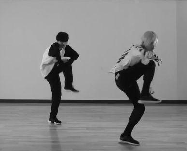 160808 Sayonara Hitori Dance Practice with Koharu Sugawara #Taemin #Shinee