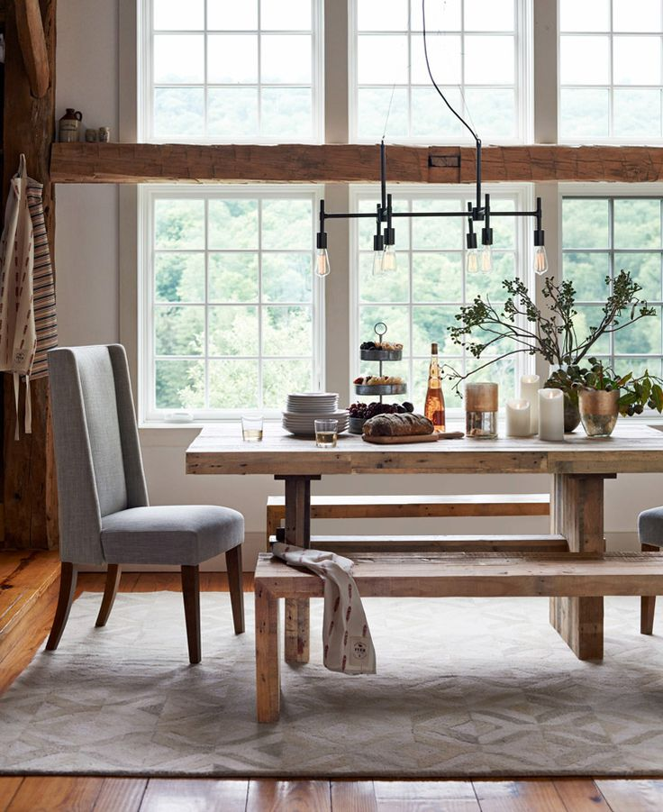 of west elmu0027s catalogue a dreamy catskills farmhouse west elm dining tabledining chair