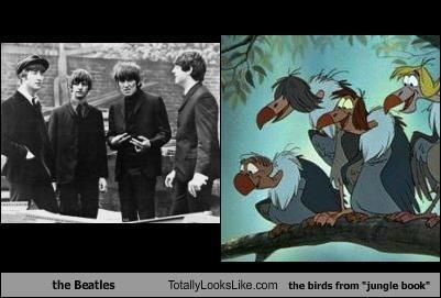 The Jungle Book Vultures Vs The Beatles