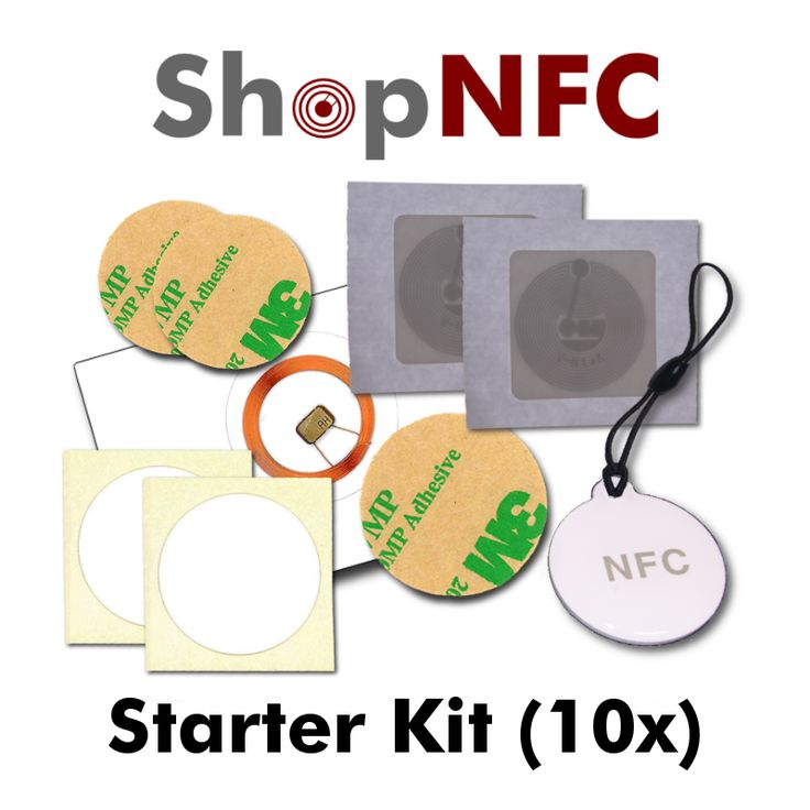 NFC Starter Kit - 10 pieces http://j.mp/NfcStarterKit