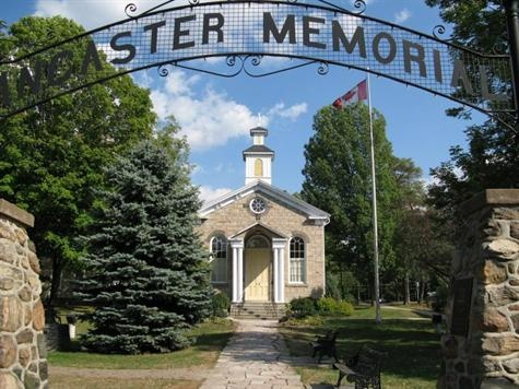 Ancaster is a picturesque and historic community located on the Niagara escarpment, within the greater area of the city of Hamilton, Ontario, Canada.