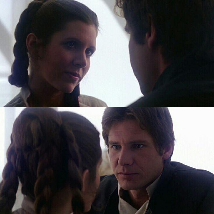 Leia and Han #StarWars