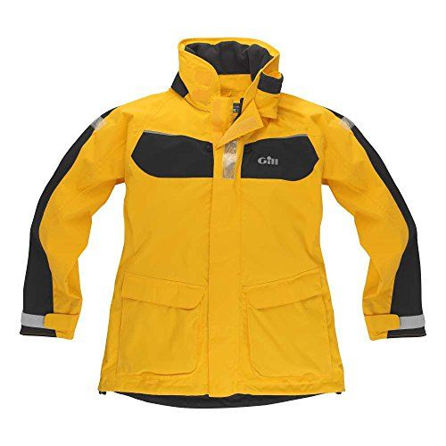 Gill IN12J Coast Jacket (Yellow/Graphite, L) IN12JYL