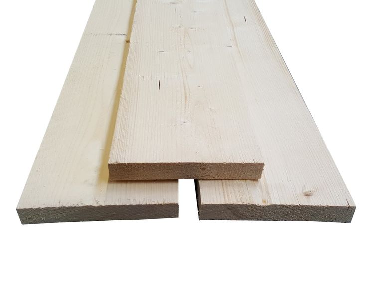 Steigerhout plank gedroogd onbehandeld 32x200mm lengte 200cm - SteigerhoutGigant.nl