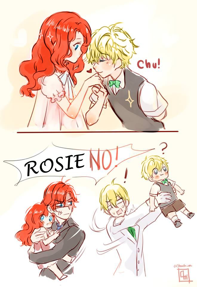 Rose and Scorpius — roxychan97: I CAN'T STOP LAUGHING ( this art is...