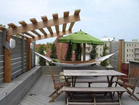 home roof deck ideas
