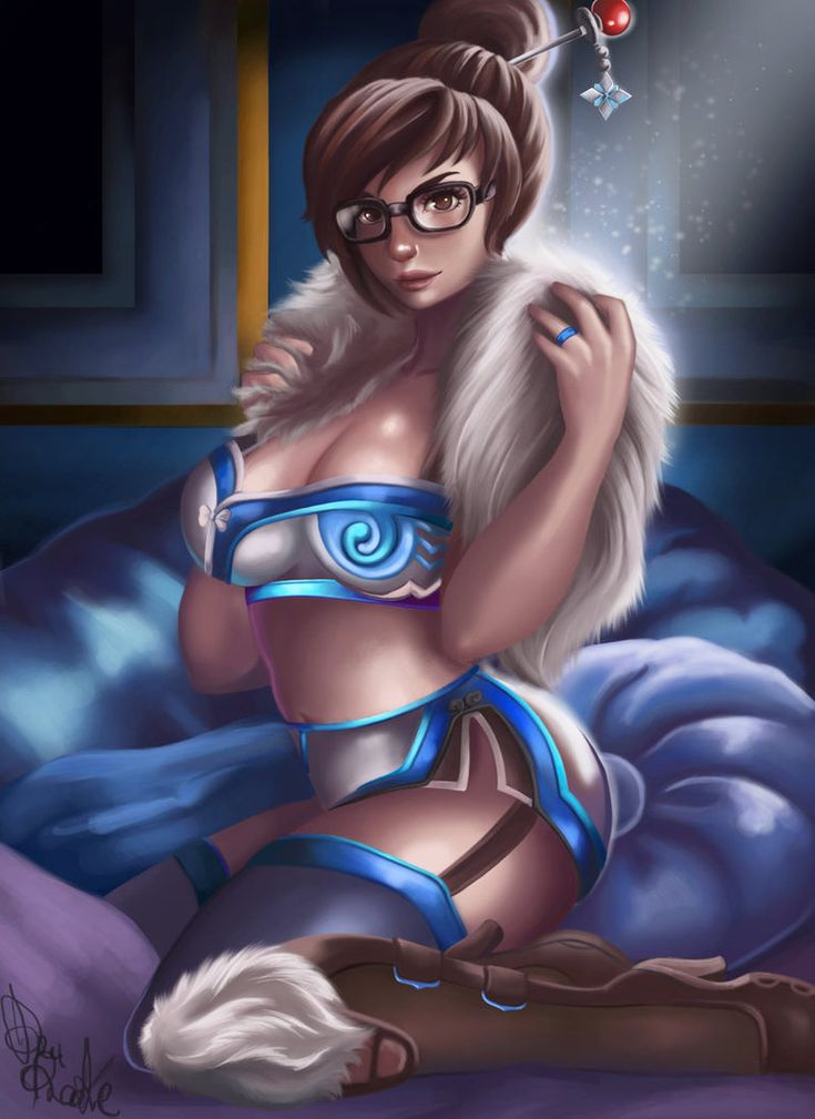 Overwatch Ow Mei Cute Sexy Cosplay Anime Game Mouse Mat Gaming Mouse Pad Gift