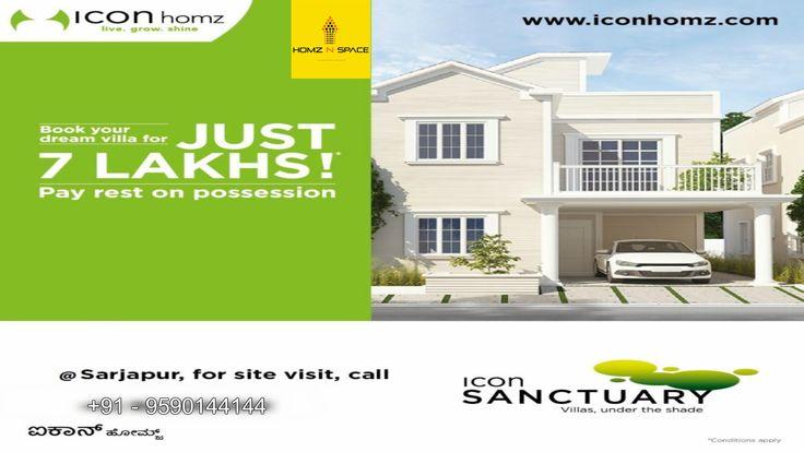 Icon sanctuary villas in Bangalore