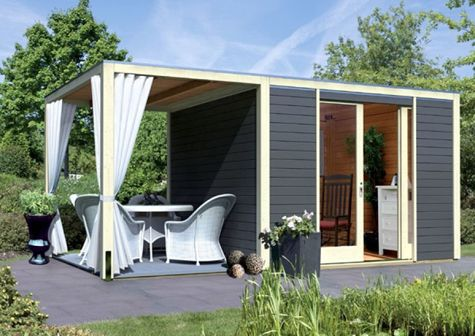 Gartenhaus günstig kaufen und selber bauen
