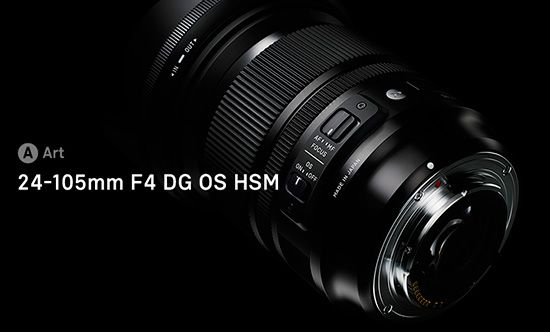 New Sigma 24-105mm f/4 DG OS HSM lens already listed on Sigma's website