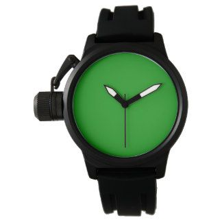 Green Men's Crown Protector  Watch
