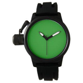 Green Men's Crown Protector  Watch