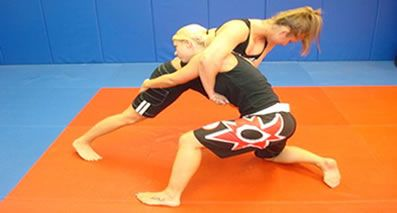 Women's Brazilian Jiu-jitsu and Submission Wrestling program.