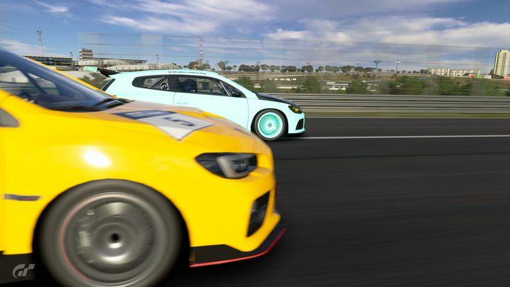 https://flic.kr/p/22hCJna | GT Sport | These were taken from an online race.#GTSport #Screenshot #Photomode #playstation #ps4 #PS4Share #racing #track #car #vw #Scooby #subaru