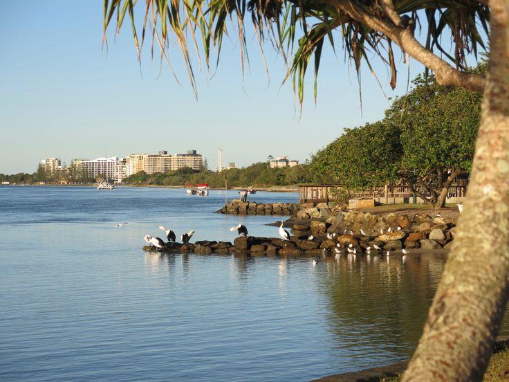 Looking towards Golden Beach Caloundra Qld Australia