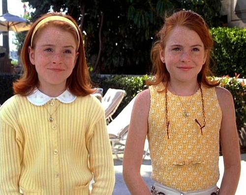 It took me years to realize that Lindsay Lohan didn't have a twin