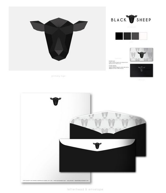 Black Sheep Restaurant Branding