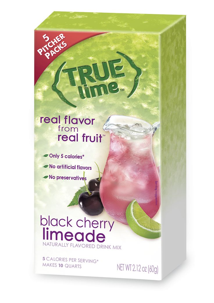 True Lime Black Cherry Limeade