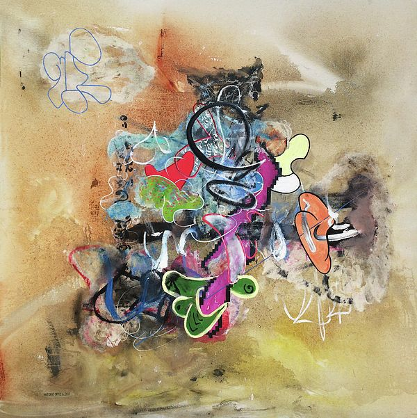 title - If It's Not Oil, It's Not Art (oil on canvas). AntonioOrtiz.com, nyc.   #art #painting #oilpainting #contemporaryart #contemporarypainting #investmentart #gagosian #zwirner #moma #nycartist #nyc #chinesecontemporaryart #creative #artist #abstractart #abstractpainting #streetart #graffiti