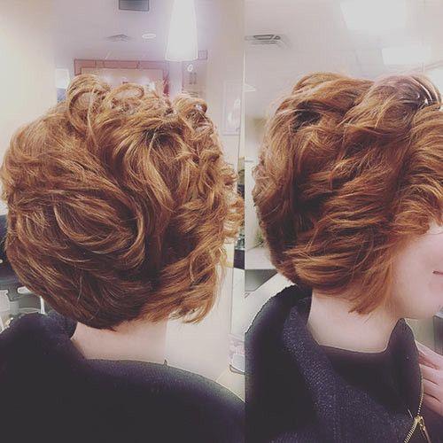 40 meilleures coiffures frisées