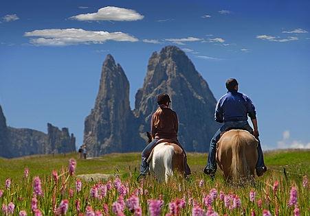 Sentieri Dolomiti a cavallo