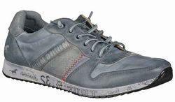 Mustang shoes blauwe sneaker 4104401