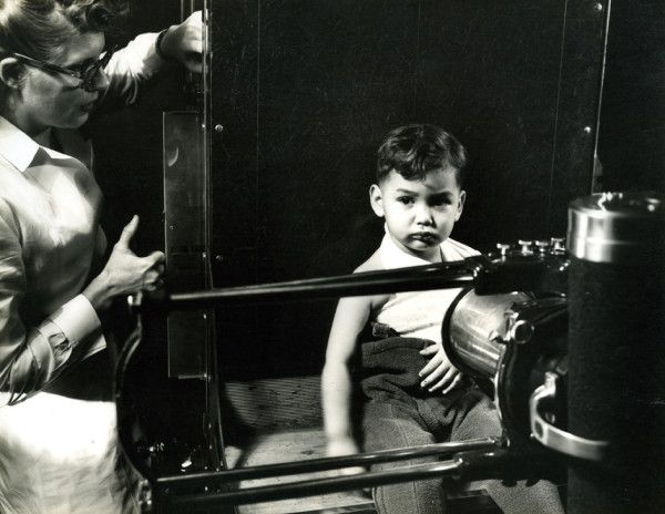 This is the featured Lancaster General Hospital photo from the past. Anyone remember when X-ray machines looked like this?