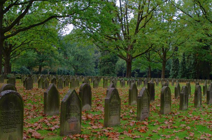 Friedhof Ohlsdorf - Gräber World War 1