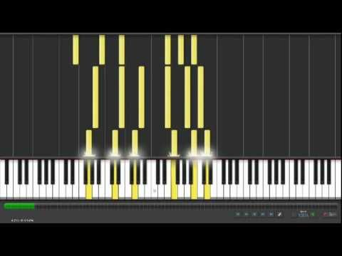 Pachelbel's Canon in D...but in C...with a visual guide to long/short, high/low, and how the song would be played on the piano. This is really neat to watch.