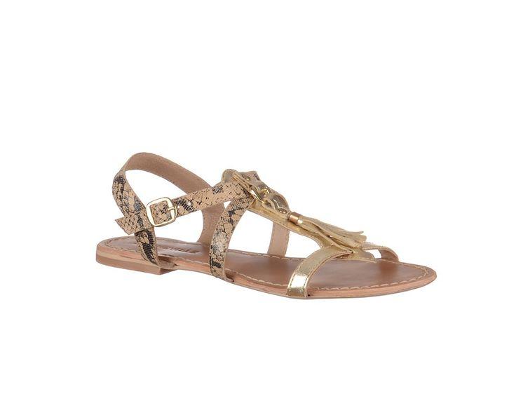 Sandale fara toc,de dama - Sandale Marca Bonneville.