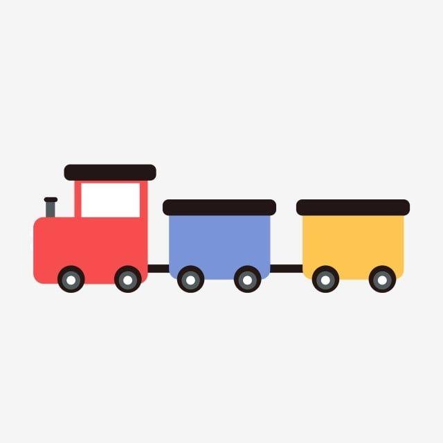 Tren Dibujado A Mano Tren De Dibujos Animados Hermoso Tren Tren Rojo Rueda Negra Tren De Juguete Los Ninos Entrenan Png Y Psd Para Descargar Gratis Pngtree Trenes De Juguete