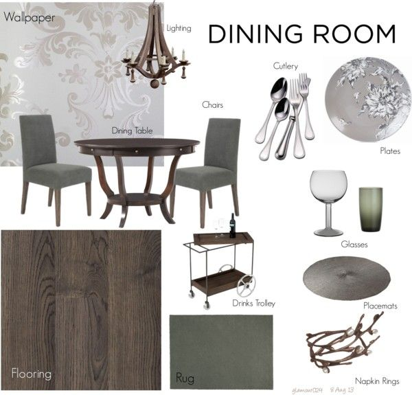My Formal Dining Room By Glamour024 On Polyvore