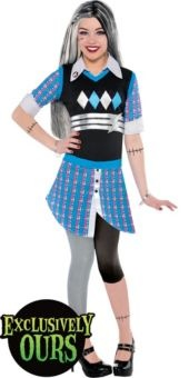 Monster High Deluxe Frankie Stein Costume for Girls - Party City