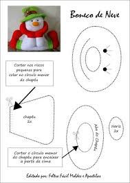 Resultado de imagen para moldes de muñeco tetera en manta polar