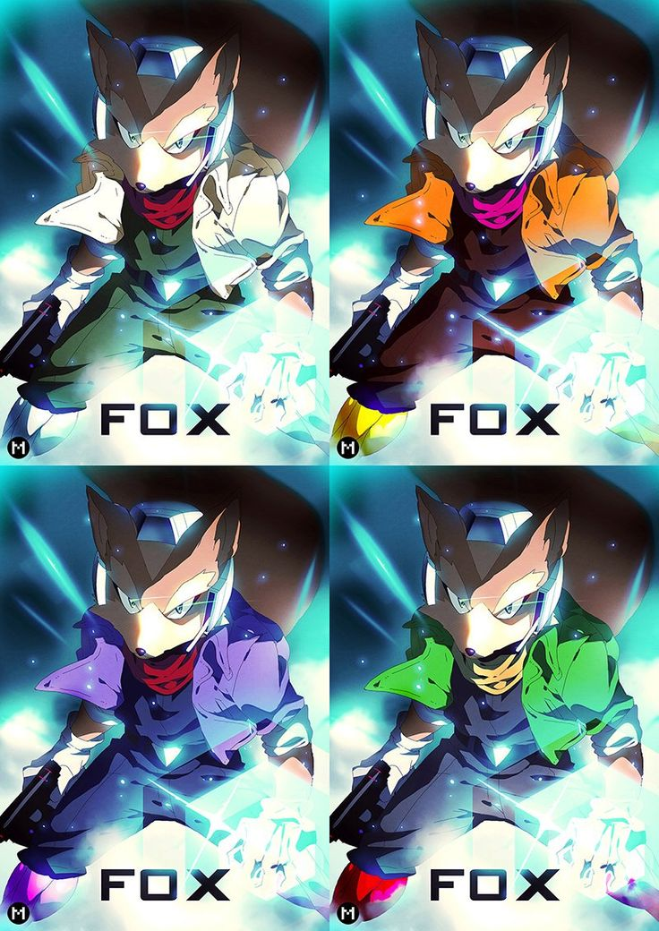 Fox Mccloud Star Game Character Super Smash Bros Foxes Nintendo Video Games Videogames