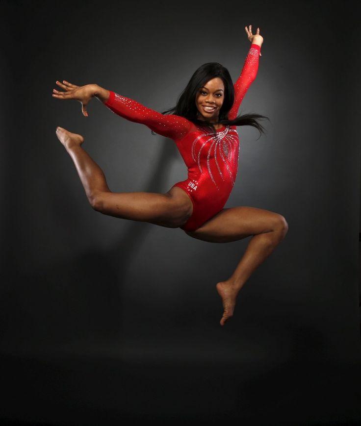 Gymnast Gaby Douglas at the U.S. Olympic Committee Media Summit.