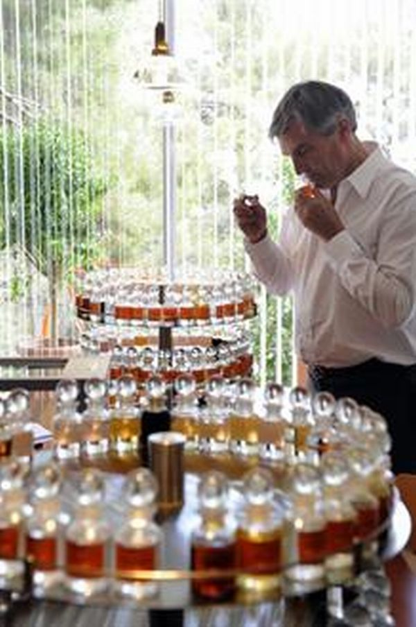 "Jean Claude Ellena.  Once ""the nose"" of Hermes and always one of the greatest perfumers of all time."