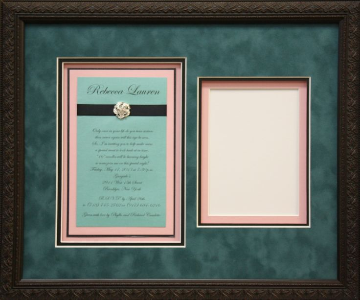 use your wedding colors in your framing projects too matting and framing design by art