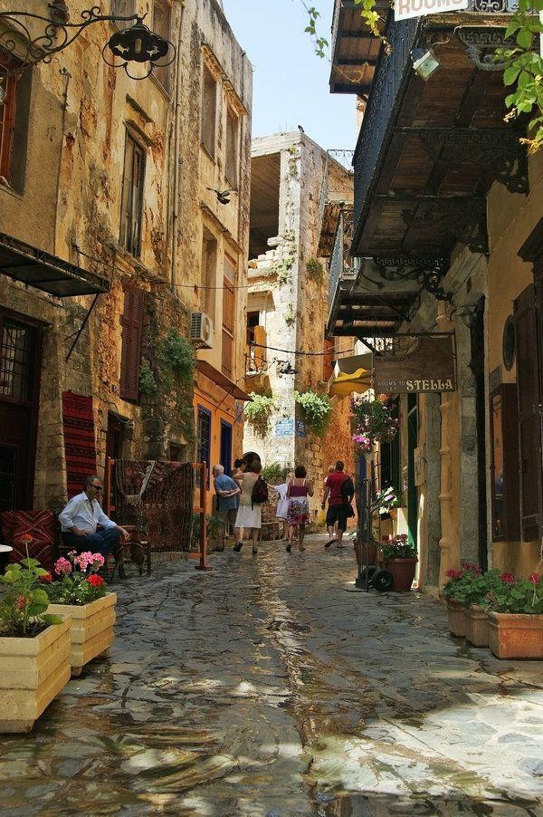 Streets of Hania, Crete - Greece