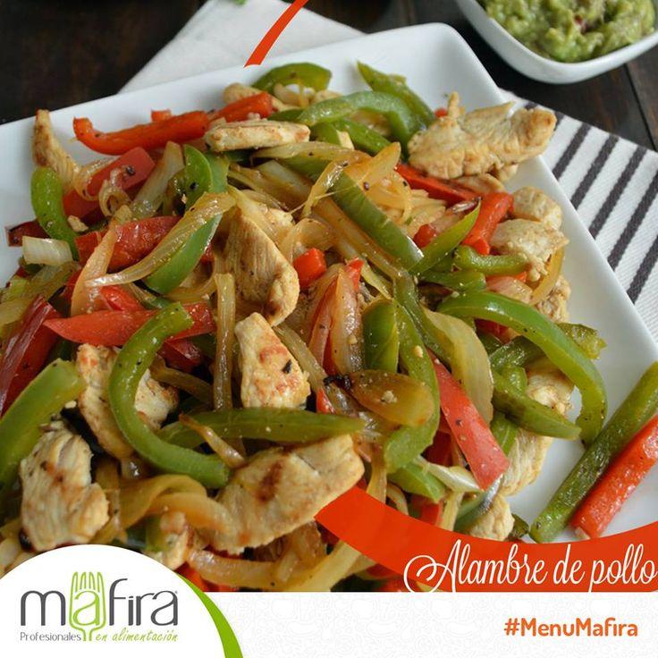 Hoy tocó comer un rico alambre de pollo, ¿lo disfrutaron? Únete al estilo de vida #Mafira y logra todos tus objetivos.
