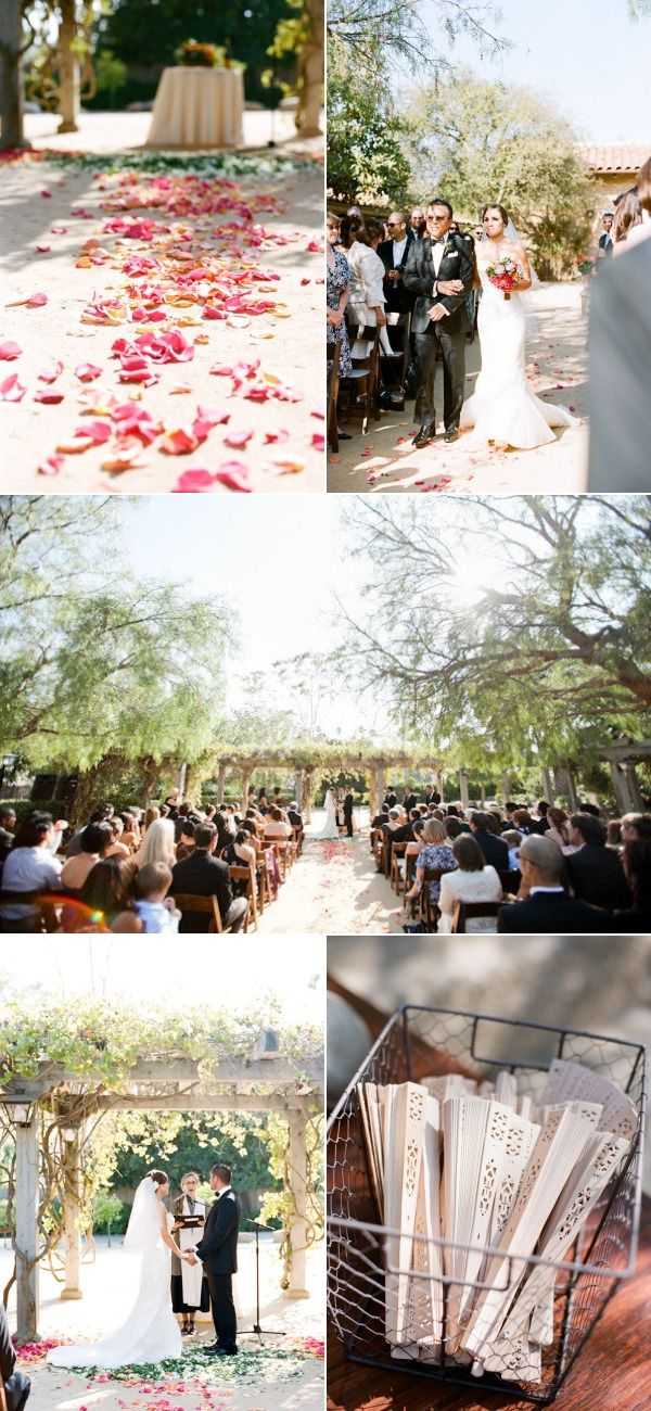 Santa Barbara Historical Museum Wedding by Picotte Weddings | The Wedding Story