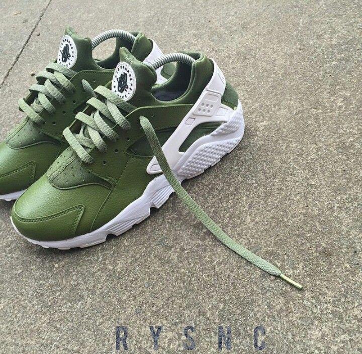 d853dfa6e4952 Army green huarache
